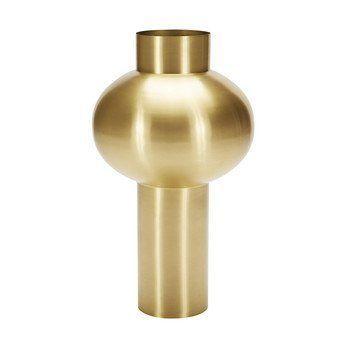 Tom Dixon - Beat Vessel Top Vase 75cm - messing/H 75cm, Ø 30cm