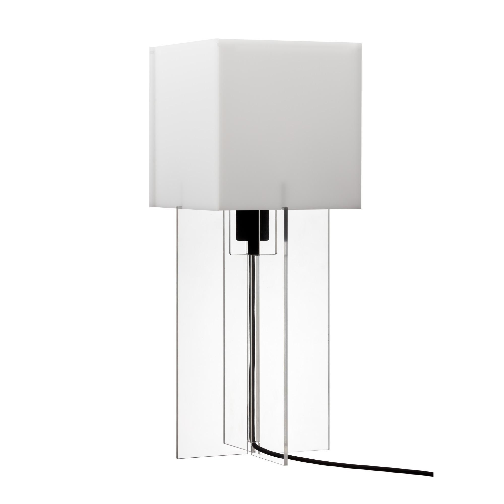 Cross-Plex Tischleuchte H 50cm