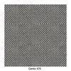 Softline - Sleep Day Bed / Schlafsofa - schwarz-weiß/Keder schwarz/Stoff Cento 470/LxBxH 204x90x73cm/Gestell schwarz