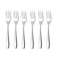 Alessi - Nuovo Milano Pastry Fork Set Of 6
