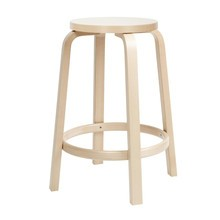 Artek - 64 Bar Chair Clear Lacquered Base 65cm