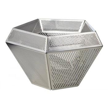 Tom Dixon - Cell Teelichthalter - edelstahl/12x7cm