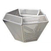 Tom Dixon - ECLECTIC Cell Teelichthalter - edelstahl/12x7cm