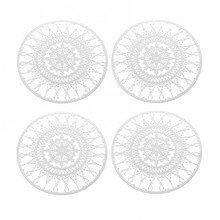 Driade - Italic Lace Round Coaster Trivet 4 pieces