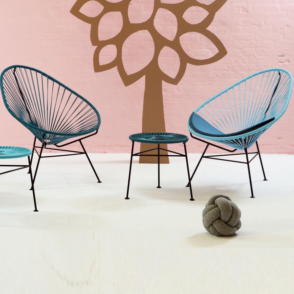 Acapulco chair armlehnstuhl ok design for Designer armlehnstuhl