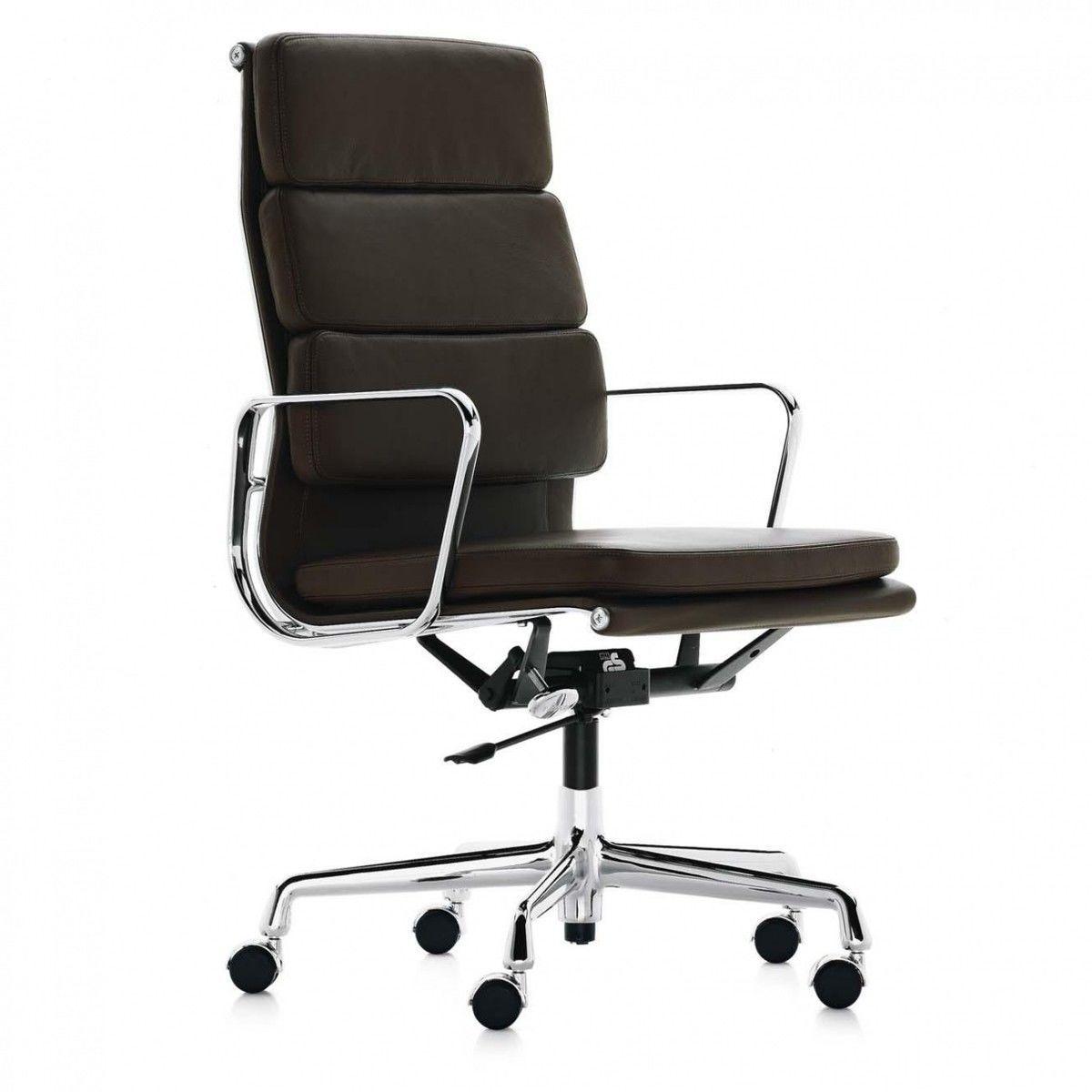 Ea 219 soft pad eames chair chaise de bureau vitra for Vitra soldes