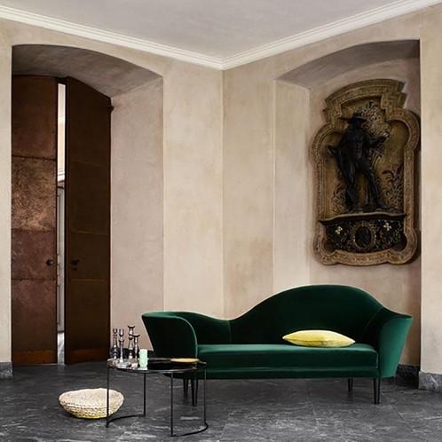 Gubi - Grand Piano 3-Sitzer Sofa