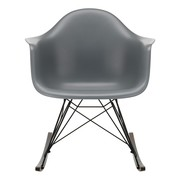 Vitra - Eames Plastic Armchair RAR Rocking Chair Black