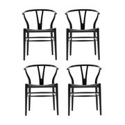 Carl Hansen - Wishbone CH24 - Set de 4 fauteuils