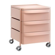 Pedrali - Boxie BXM 3C Container on Wheels H 63cm