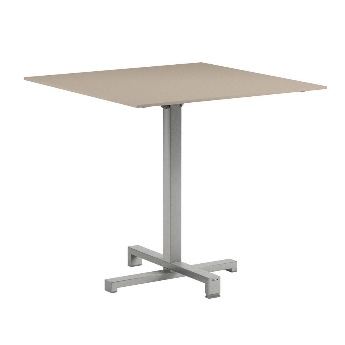 Royal Botania Taboela Folding Table Frame Stainless Steel