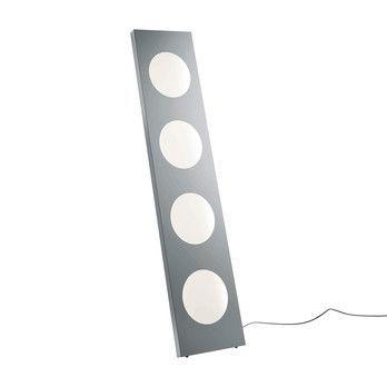 Foscarini - Dolmen LED Stehleuchte - aluminium/eloxiert/mit Dimmer/2700K/6486lm/CRI>90/40x180x4cm