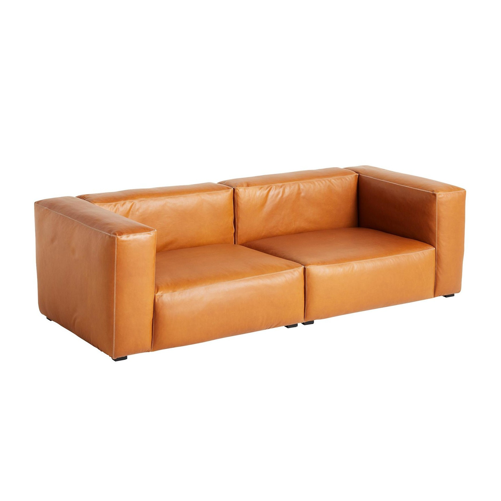 - HAY Mags Soft 2,5 Seater Sofa Leather 238x103.5x67cm AmbienteDirect