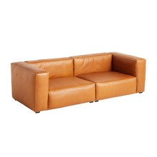 HAY - Mags Soft 2,5 Seater Sofa Leather 238x103.5x67cm