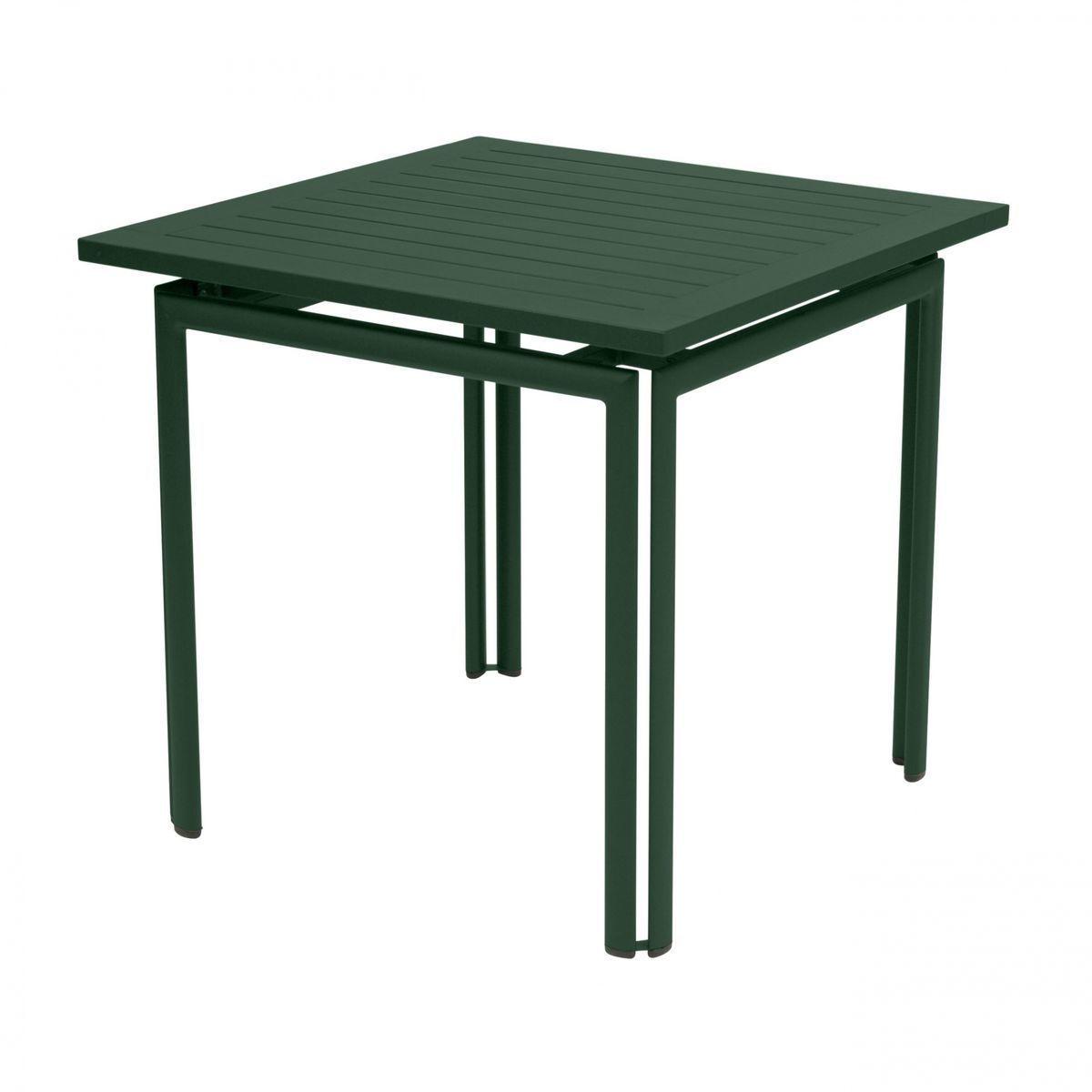 costa garden table square fermob. Black Bedroom Furniture Sets. Home Design Ideas