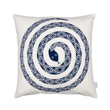 Vitra - Graphic Print Pillow Snake - Coussin