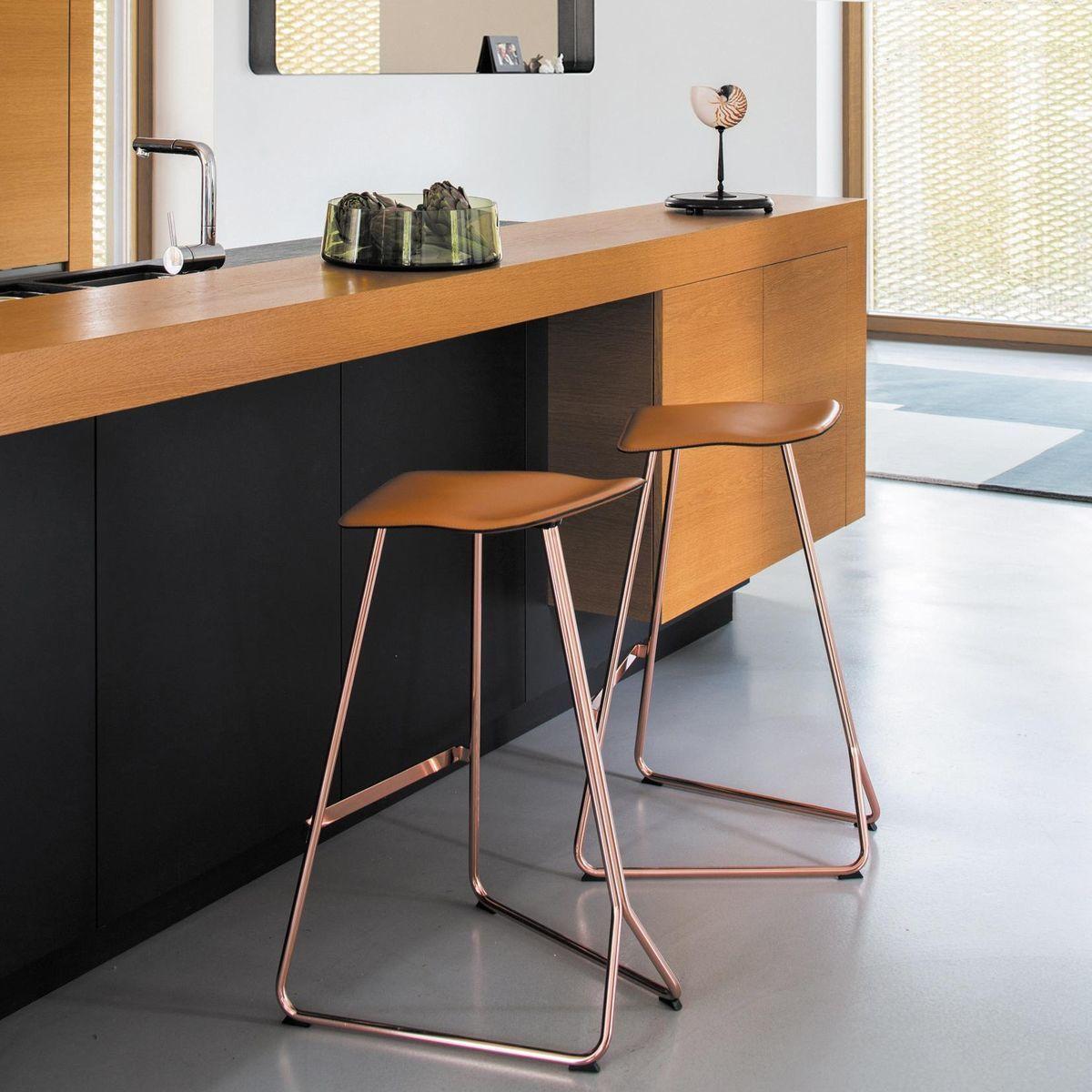 Triton Bar Stool Copper Classicon Ambientedirect Com