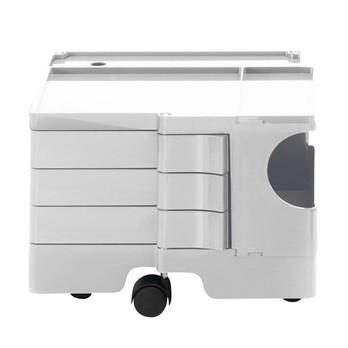 B-Line - Boby XSmall 13 Rollcontainer - weiß/3 Schubkästen/LxBxH 43x42x31.5cm