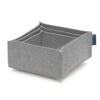 Hey-Sign - Box 2 Filz-Aufbewahrungsboxen 3er Set