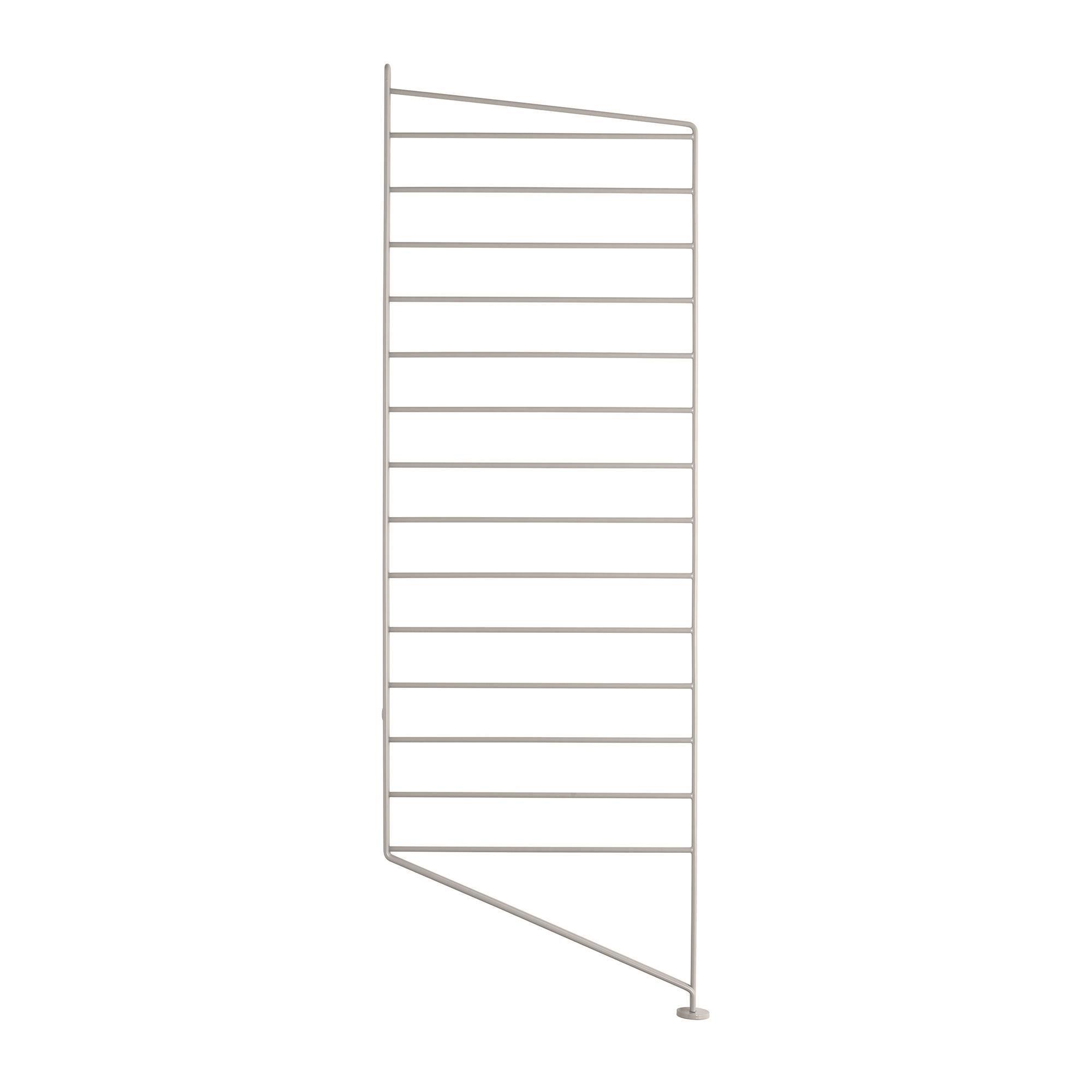 Bodenleiter Weiß 85 x 30 cm String