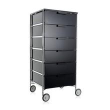 Kartell - Mobil 6 Container mit Rollen