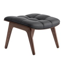 NORR 11 - Mammoth Ottoman Dark Stained Oak Base