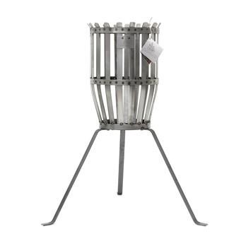 Röshults - Fire Basket Feuerkorb Original - rost/H70cm