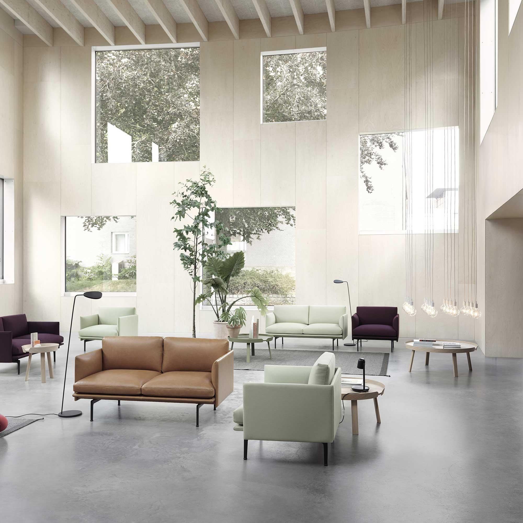 Muuto Outline Sofa 2 Sitzer Ambientedirect