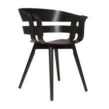Design House Stockholm - Wick Armlehnstuhl mit Holzgestell
