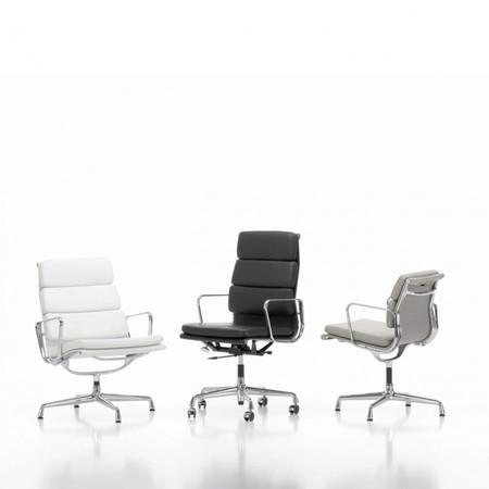Eames Alu Bureaustoel.Vitra Ea 219 Soft Pad Eames Chair Bureaustoel Ambientedirect
