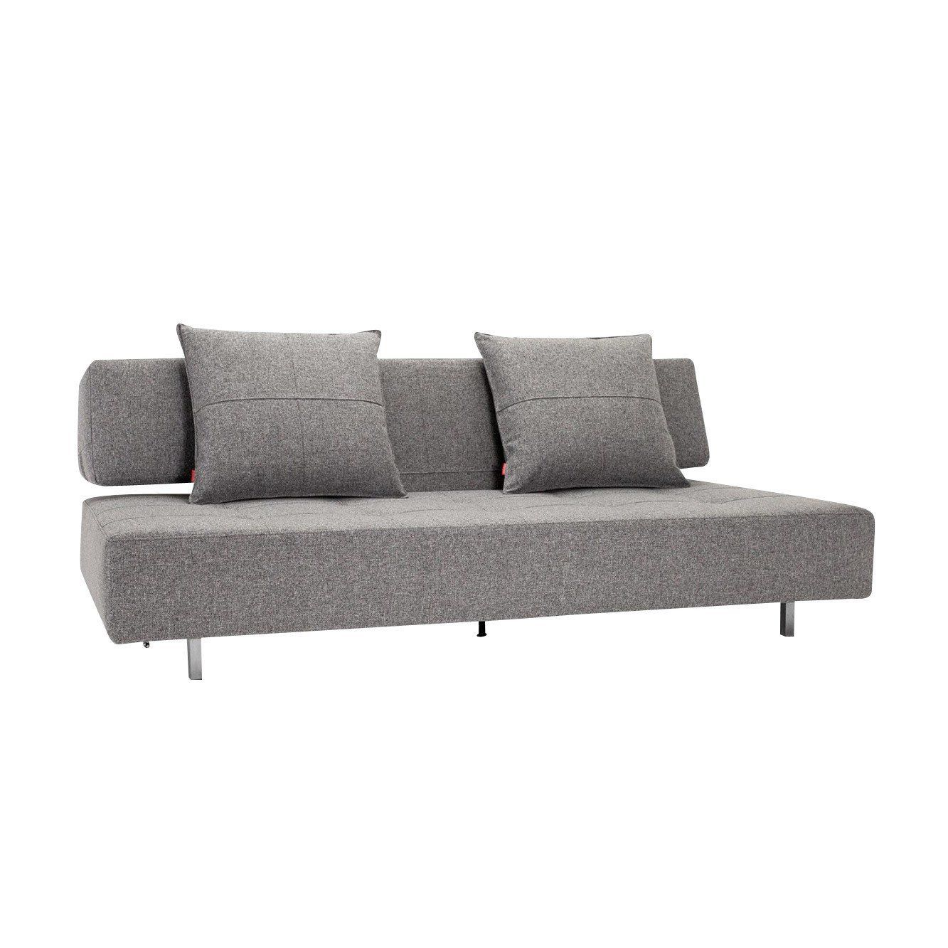 Bon Innovation   Long Horn Excess Sofa Bed   Dark Grey/fabric/cover Dess.