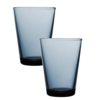 iittala - Kartio Longdrink Gläser-Set - regenblau/40cl/2 Stück