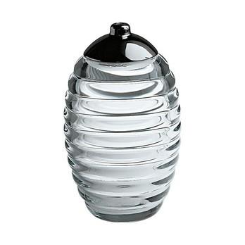 Alessi - Sugar Jar Zuckerstreuer - edelstahl/glänzend poliert/H 14,2cm, Ø 8,7cm, 35cl