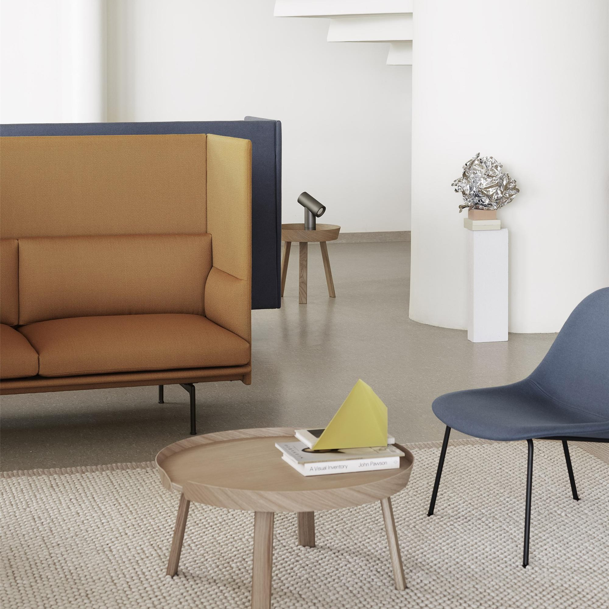 Muuto Outline Highback Sofa 3 Seater Ambientedirect