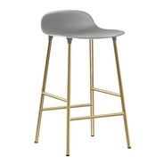Normann Copenhagen - Form Barhocker Gestell Messing 65cm