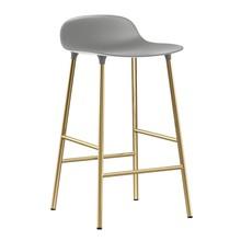 Normann Copenhagen - Tabouret de bar Form structure laiton 65cm