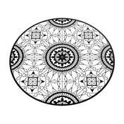 Driade - Italic Lace Round Placemat Untersetzer