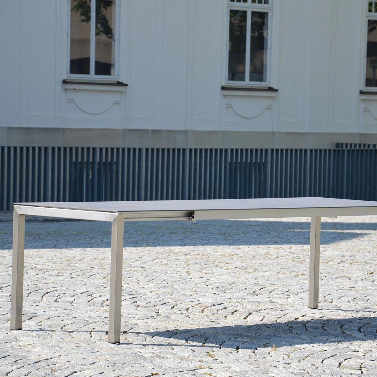 Lux Excell Keramik-Gartentisch ausziehbar | Jan Kurtz ...