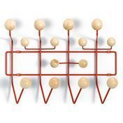 Vitra - Hang it all Special Edition Coat Rack - spruce natural/frame red/wood laquered/frame metal/Only a few in stock!