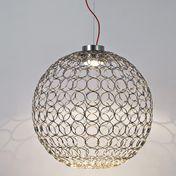Terzani - G.R.A Suspension Lamp Ø70cm - nickel/glossy