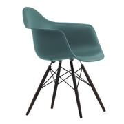 Vitra - Chaise avec accoudoirs Eames DAW érable noir