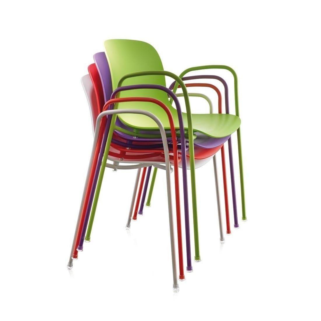 Troy set de 4 sillas con cojines magis - Cojines para silla ...