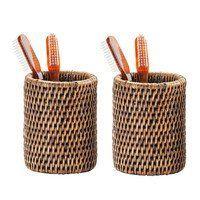 Decor Walther - Basket BER Rattan Tumbler Set 2 Pieces