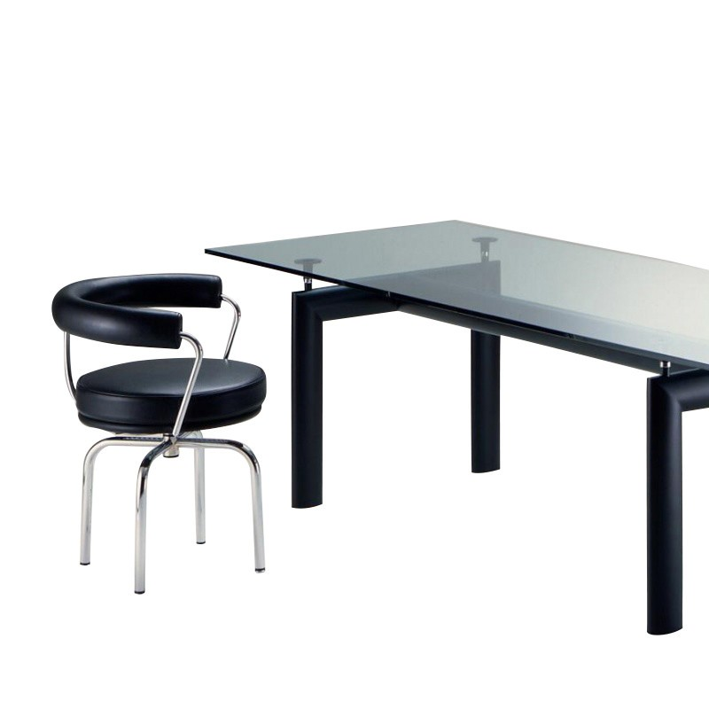 Cassina Le Corbusier LC7 Dreh-/Armlehnstuhl | AmbienteDirect