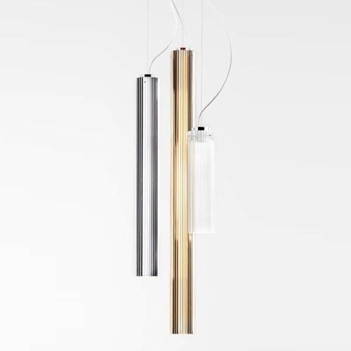 Kartell - Rifly Metallic LED-Pendelleuchte