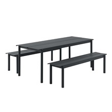 Muuto - Linear Steel Garden Set L 200cm