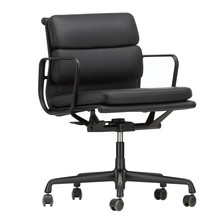 Vitra - EA 217 Soft Pad Chair Black Base