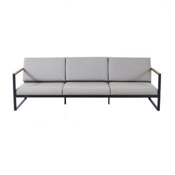 - Garden Easy 3-Sitzer Sofa  - nature grey/Sunbrella/239x86x60cm/Gestell antrazit