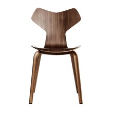 Fritz Hansen - Grand Prix™ Chair With Wood Base