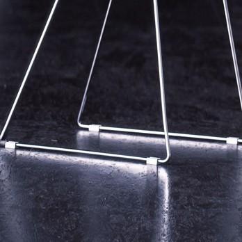 Jan Kurtz - Gliss - Fußgleiter Ersatzteil - aluminium/4 Stück